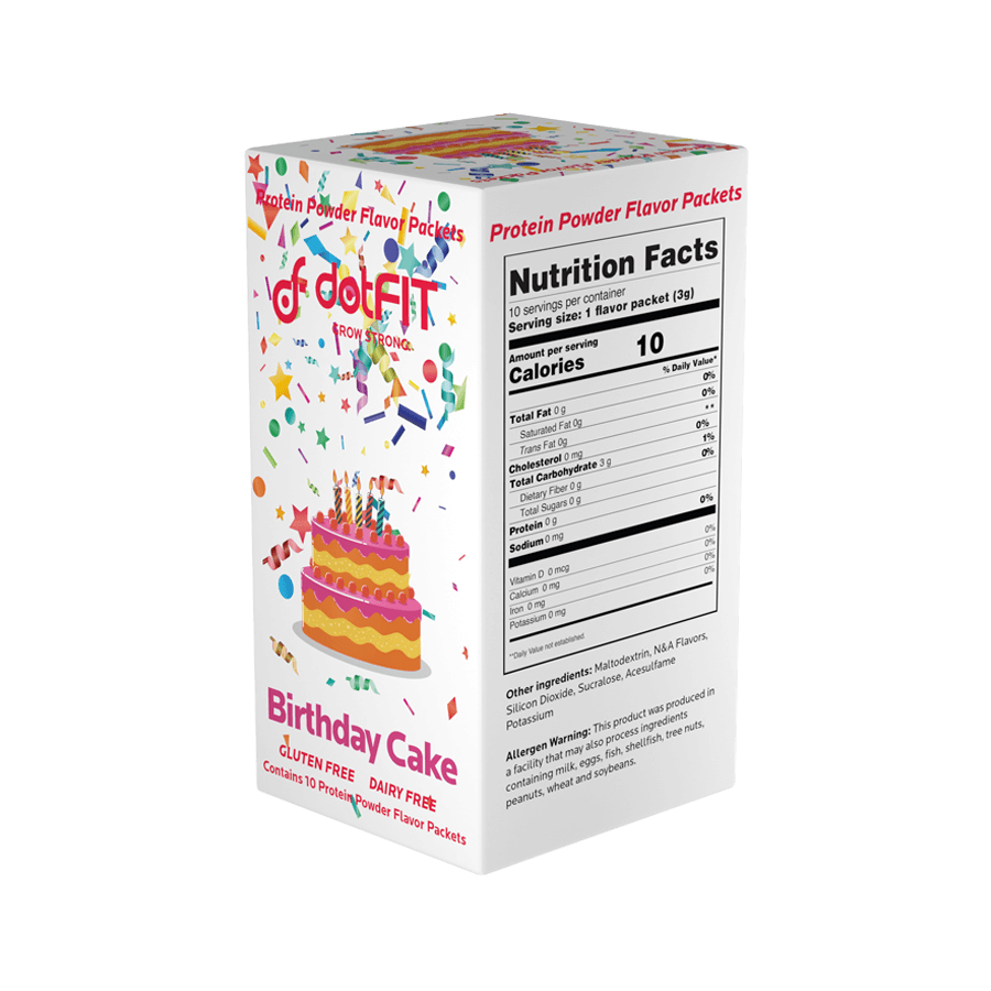 "Birthday Cake ""FlavorPaks"" (10 pack of flavor packets)"